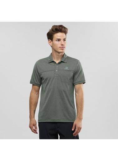 Salomon Explore Polo Erkek T-Shirt Lc1073100 Renkli